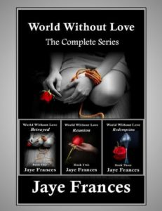 World Without Love by Jaye Frances a suspense thriller series with an erotic edge