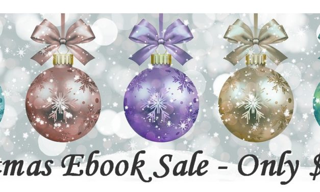 Ebooks on Sale for Christmas – Only $0.99!